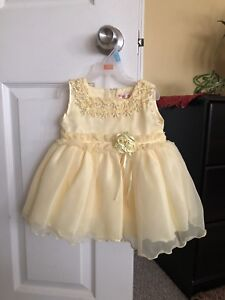 Yellow baby dress!