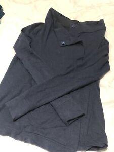 b48fe400f8193 Navy lululemon wrap sweater