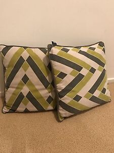 Two Madras Link Cushions Seacliff Holdfast Bay Preview