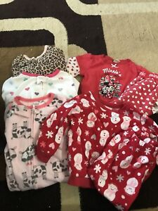 12 month girl clothing -27 pieces