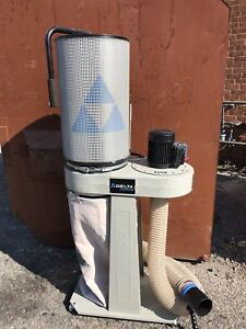 Delta 1hp Dust Collector with Canister Filter