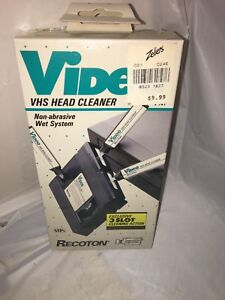 Factory sealed vhs vcr head cleaner
