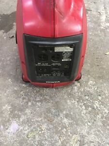 Honda eu 1000 Inverter generator