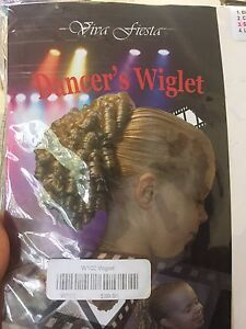 Dancer's wiglet - curly hair piece Ashmore Gold Coast City Preview
