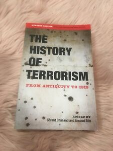 The History Of Terrorism textbook