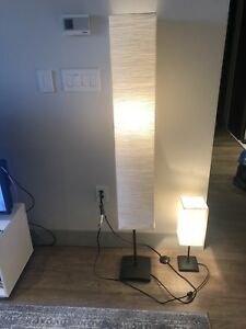 Floor and side table lights / lamps