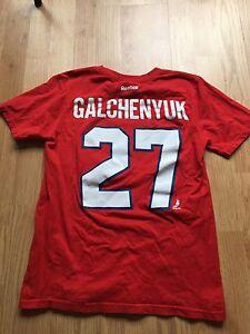 Galchenyuk Montreal Canadiens t-shirt size 10/12