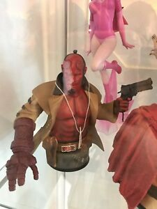 Hellboy bust statue collectible