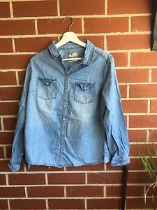 New look denim shirt Woolooware Sutherland Area Preview