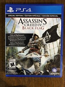 Assassin's creed 4 black flag and Assassin's creed unity (ps4)