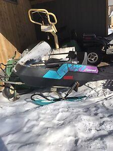 Snowcoach sleigh  for kids