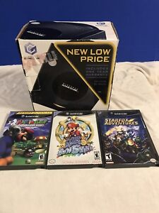 Boxed Nintendo GameCube With three games