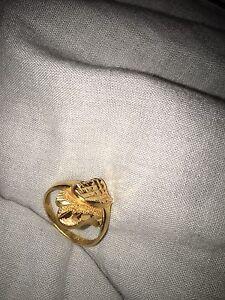 Ring gold 21