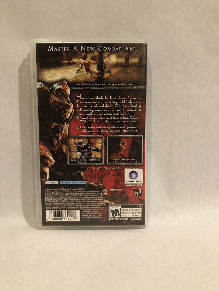 Prince of Persia - Revelations PSP