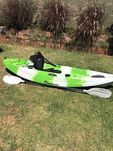 Kayak with accessories