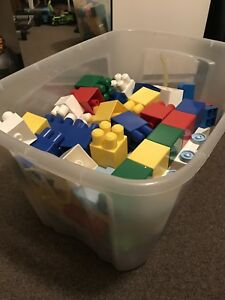 LEGO (112-litre storage container 80% full)