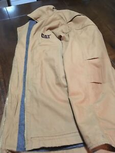 XL CAT work coat