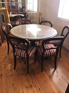 Rosewood 4 Piece Furniture Set