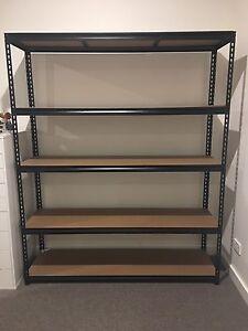 Shelves Black metal Longueville Lane Cove Area Preview