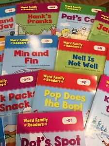 Word Family Readers - educational books