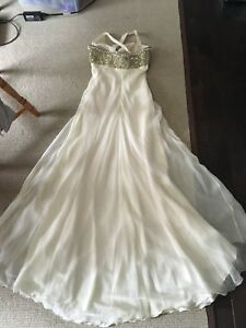 Wedding Dress (off white)