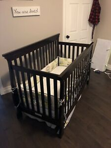 Children's crib and dresser