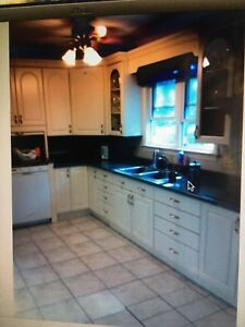 Main level of house on large city property w utilities included