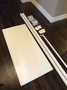 IKEA Stolmen Posts, Shelf, Cloth Rail, and Hardware