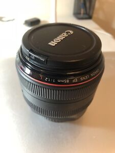 Canon 85mm 1.2 L Great condition price to sell !!