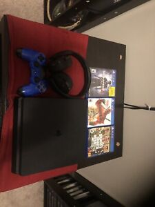 PS4 1TB plus games and wireless headset and more
