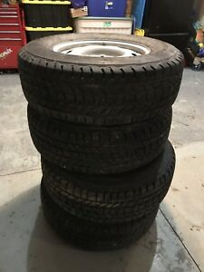 265/70R17 Ford F-150 Winter Tires and Rims