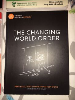 The changing world order modern history text book