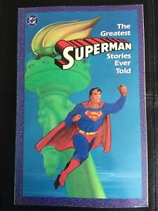 DC Comic The Greatest Superman Stories Ever Told Vol 1