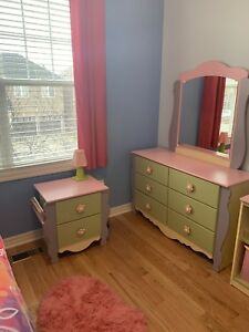 Ashley dollhouse girls full/double bedroom furniture