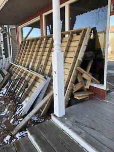 Wood & decking material from old deck