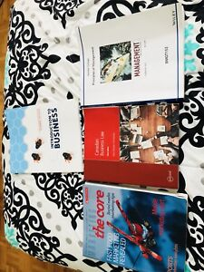 Humber business textbooks for sale!