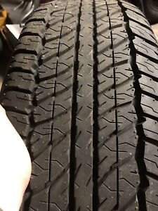 265/70/17 Dunlop New Takeoffs