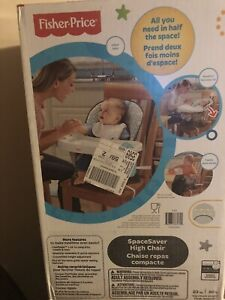 Brand New Fisher Price Space Saver Highchair