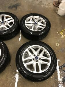 235 55 17 winter tires on ford oem rims with sensors