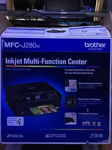 Brother MFC-J280w 5 in 1 printer WIFI & Touchscreen
