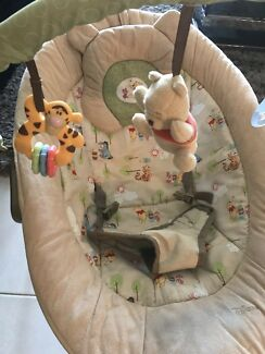 Winnie the Pooh baby bouncer chair