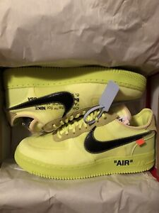4541ead86f1 Nike x Off-White AF1 Air Force One Volt Size 12
