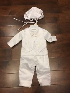Baptism outfit for baby boy