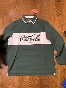 KITH x COCA COLA RUGBY SWEATER