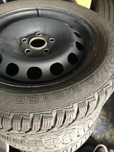 205 55 16 vw winter rims and tires