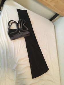 Used Lululemon Yoga Pants and Sports Bra