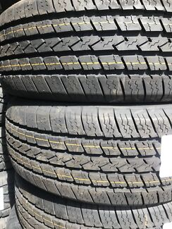 Brand new 235/60R17 tyres