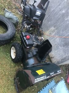 Parts Snowblower