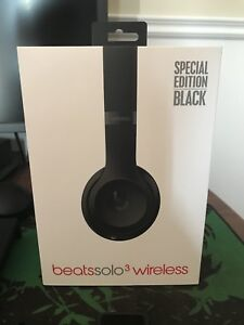 Beats solo 3 headphone wireless black spécial éditions