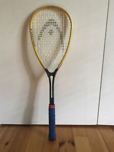 HEAD squash racquet and carrying bag